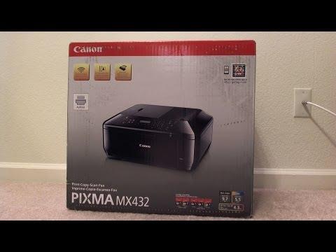 Canon Pixma MX452 Wireless Color Printer,Copier Scanner ...