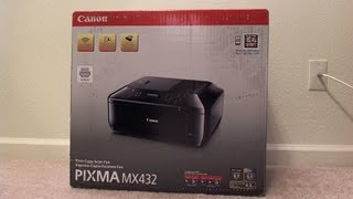 Review: Canon MX432 All-in-one Printer