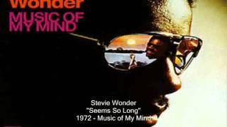 Stevie Wonder - Seems So Long (with lyrics)