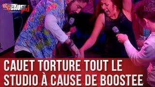 Cauet torture tout le studio a cause de Boostee - C'Cauet sur NRJ