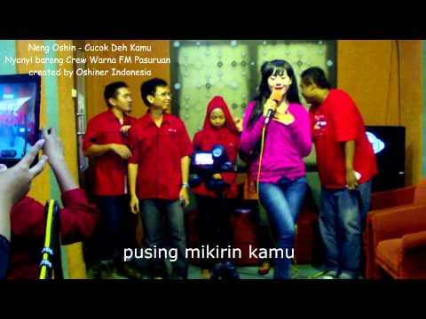 Neng Oshin - Cucok deh kamu Visit Radio (Cover Lagu Neng Oshin Cipt. Endang Raes - Nagaswara)