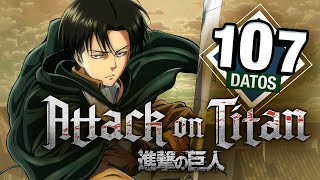 Attack On Titan: 107 datos que DEBES saber | Shingeki No Kyojin | Átomo Network