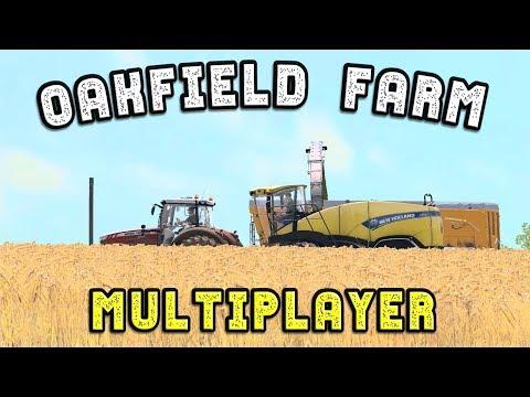 The Team are on Oakfield Farm | Farming Simulator 17 Multiplayer
