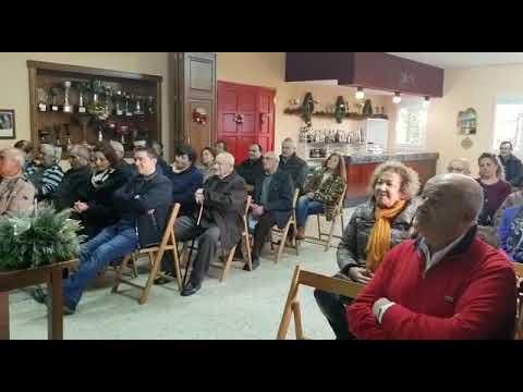 Música da agrupación Cerna de Árbol para dar a benvida ao Nadal en Castro