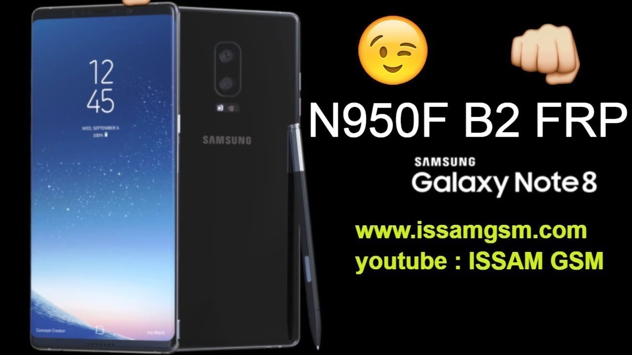 Samsung Galaxy Note8 N950F B2 HOW TO REMOVE FRP 7 1 1 ADB AND Z3X
