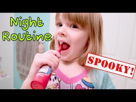 Creepy Night Time Routine with The Doll Maker, My PB and J and Ryan ToysReview Teeth Products!