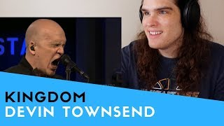 Voice Teacher Reacts to Devin Townsend - Kingdom