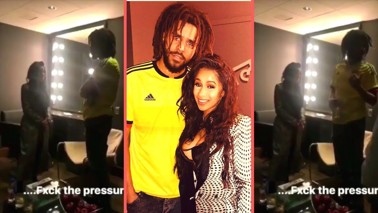 Cardi b and j cole meet for the first time j cole and cardi b talk cardi b and j cole meet for the first time j cole and cardi b talk bodak yellow going number 1 jay z m4hsunfo