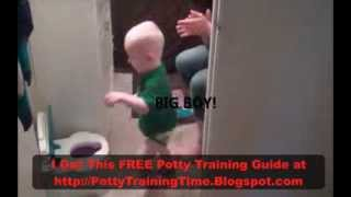 WE DID IT! How To Potty Train a Boy in 3 Days!