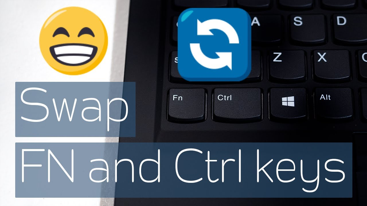 How to swap FN and Ctrl keys in Lenovo X1 Carbon