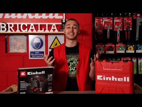 Taladro percutor Einhell TE-CD 18 Li-i BL   Review Taladro percutor bateria Einhell Power x Change