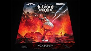 Blood Rage Tutorial + Partida Completa