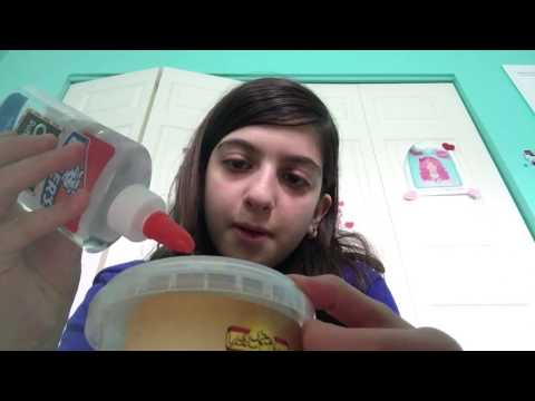 How to make metallic slime without any metallic dyes