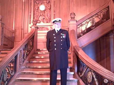 Captain E.J. Smith's Retirement Speech in Titanic: The Artifact Exhibition  - YouTube