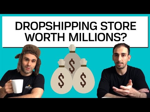Our Plans to Sell a High Ticket Dropshipping Store for $1,000,000 - $3,000,000 thumbnail