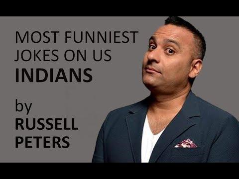 Russell Peters's Funniest Jokes On Indians.ll Funny Desi Jokes.