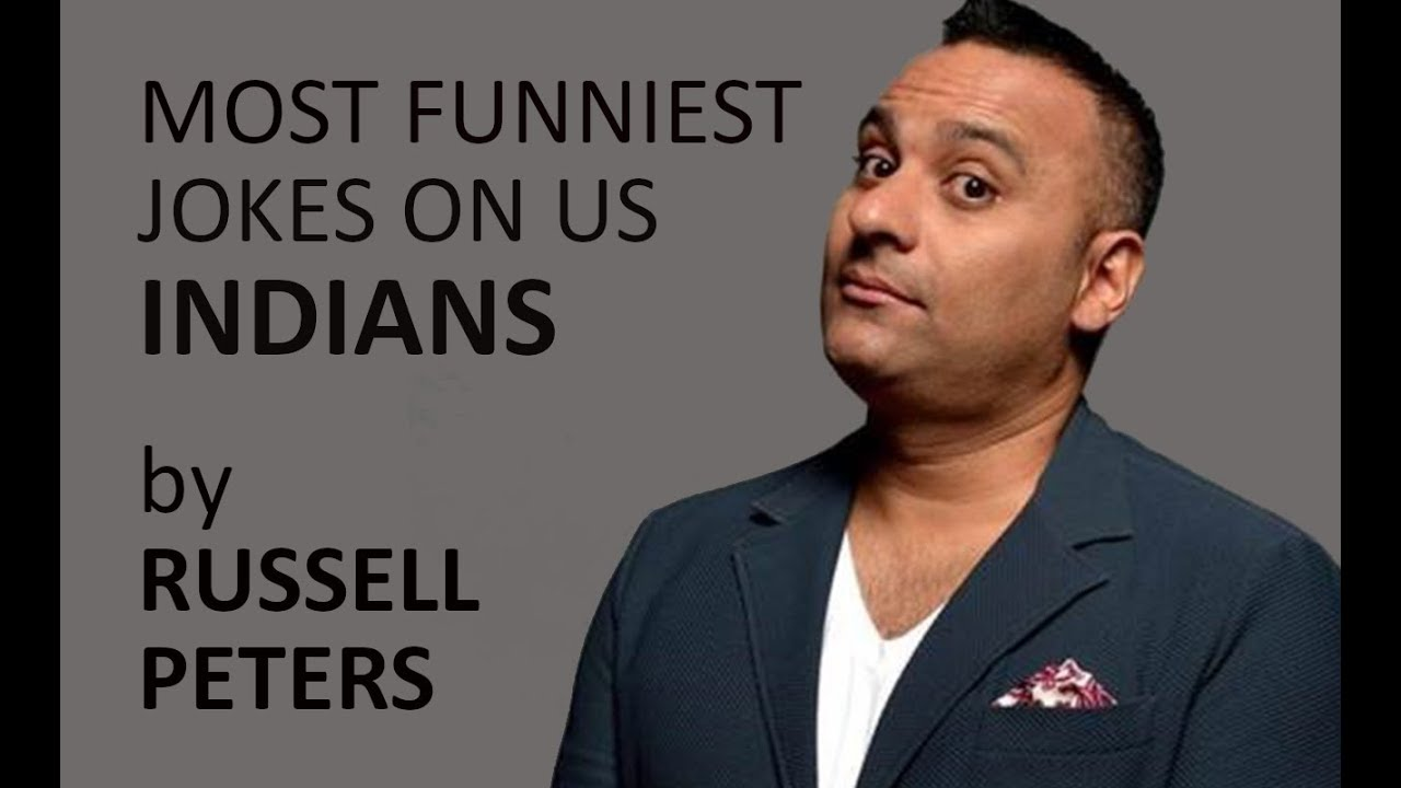 Download Russell Peters's Funniest jokes on Indians.ll Funny desi jokes.