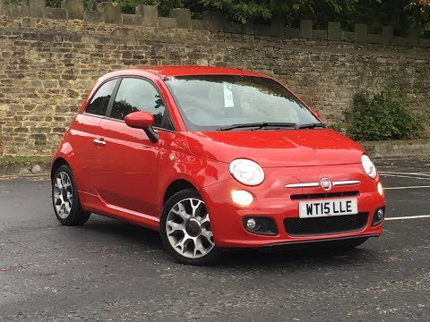 Fiat 500 S 1.2 For Sale at Peter Watson (Skipton) Ltd