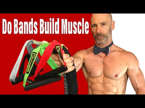 Can you build muscle using resistance bands