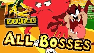 Taz Wanted All Bosses | Final Boss (PC, PS2, Gamecube, XBOX)