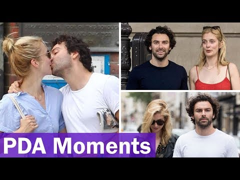 Aidan Turner and Caitlin FitzGerald's Romantic and Hottest PDA Moments of 2018