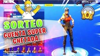 RAPIDO SORTEO cuenta de FORTNITE !!!! - REQUISITOS en la descripcion