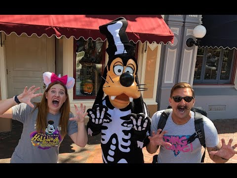 WE WENT TO DISNEYLAND!! | Fall Decorations, Haunted Mansion Holiday & Star Wars Land Construction