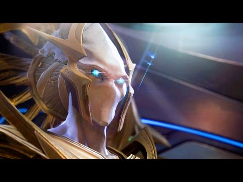 Rohana: Artanis Meets Grand Preserver on Protoss Arkship (Starcraft 2: Legacy of Void)