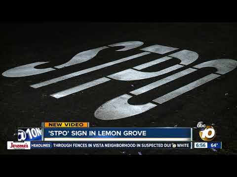 Tony Sandoval on The Breeze - Misspelled 'STOP' sign draws drivers' attention