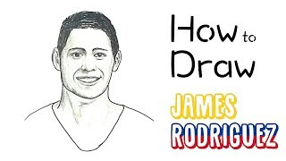 How to Draw James Rodriguez