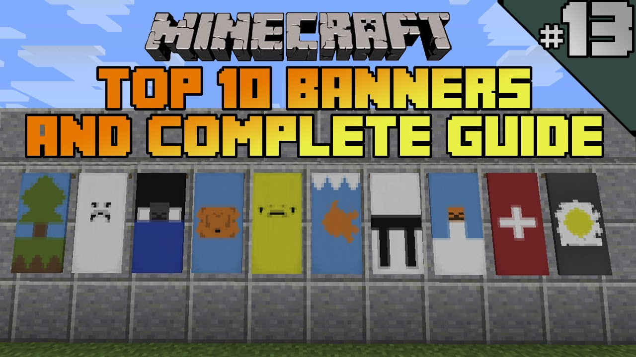 How To Make A Cake Banner Minecraft