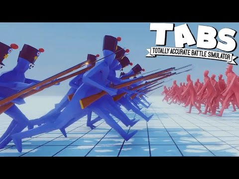 TABS Most OP Unit & NEW BAYONETS - Totally Accurate Battle Simulator Gameplay