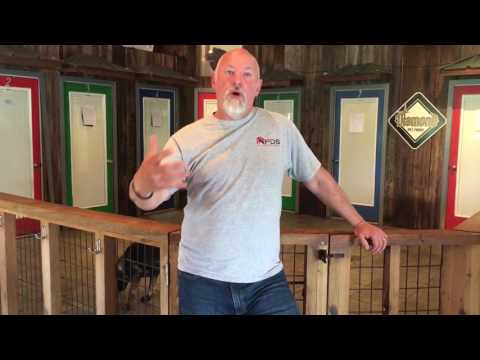 A Video Discussion of In Kennel Training And Cost W/Protection Dog Sales & Animal Resorts