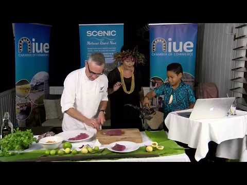 Ray McVinnie LIVE Recipe From Niue