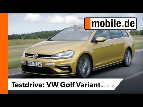 Vw Golf Variant Ab 2012 Mobilede Testdrive Youtube