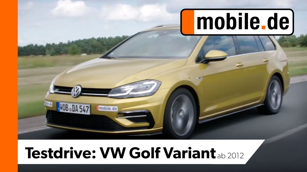 Vw Golf Variant Ab 2012 Mobilede Testdrive Youtube