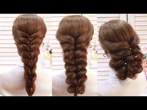Простые и Удивительные Прически Косы Трансформации. Amazing Hairstyle Tutorial Compilation 2017