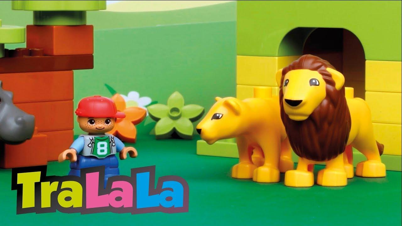 Hai să învățăm despre animale - Teatrul Pătrățică - LEGO DUPLO   TraLaLa