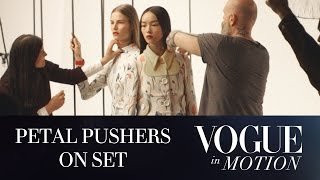 Vogue in Motion - Petal Pushers: EP 2 of 3 - Behind the Scenes of a Vogue Fashion Editorial Shoot