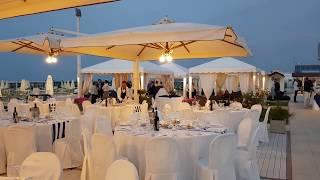Una suggestiva cena in spiaggia a Riccione con Catering & Banqueting Atlantic
