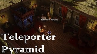 Ep010 Tactician playthrough Divinity: Original Sin enhanced edition Teleporter Pyramid