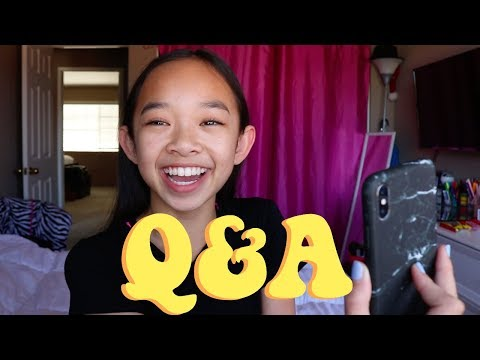 Q&A Nicole Laeno | dance advice, makeup, boys, and dabbing?