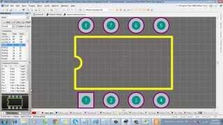 Altium Designer Bài 5: Hướng dẫn tạo thư viện linh kiện