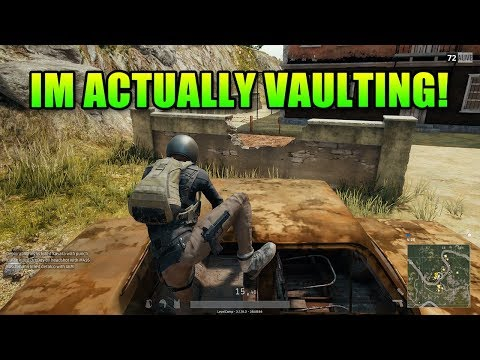 Holy Crap It's Finally Here! PUBG Vaulting Patch.