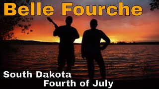 Belle Fourche, South Dakota.  Fourth of July.  Mile Long Parade. Center of the Nation.