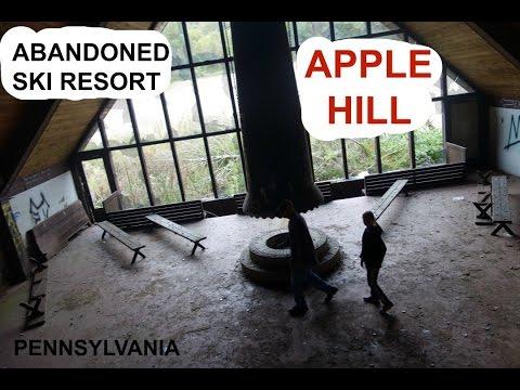 ABANDONED Ski Resort Pennsylvania - Apple Hill (+abandoned house)