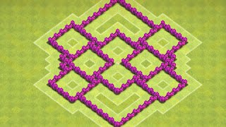 Clash of Clans - Town Hall 6 (TH6) Farming Base