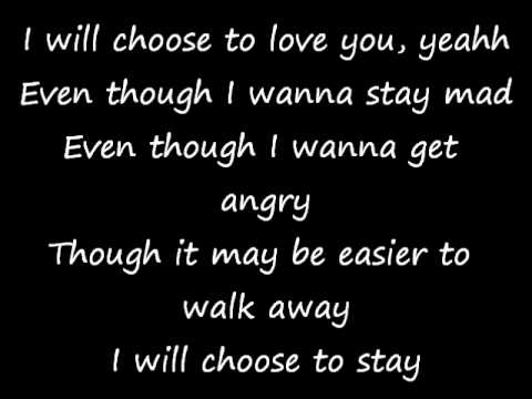 I Choose You - Stan Walker