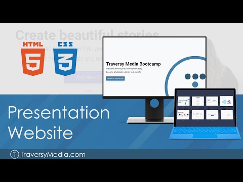 Create A Presentation Slide Website