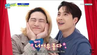 GOT7 2020 FUNNY MOMENTS / try not to laugh or smile 4